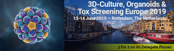 SELECTBIO: 3D Culture, Organoids, & Tox Screening Europe 2019 Exhibition
