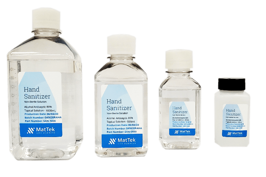 MatTek Shifts Labs into Hand Sanitizer Production